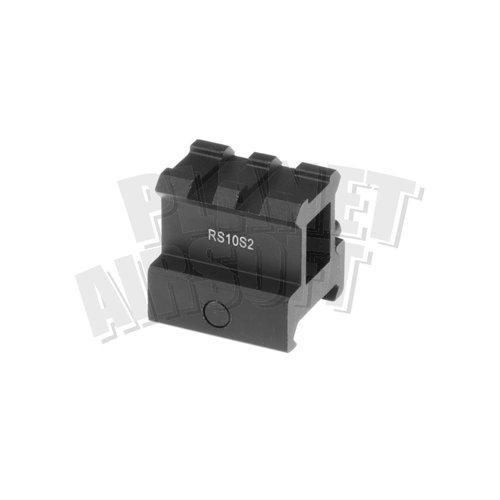 Leapers / UTG High Profile 2-Slot Twist Lock Riser Mount