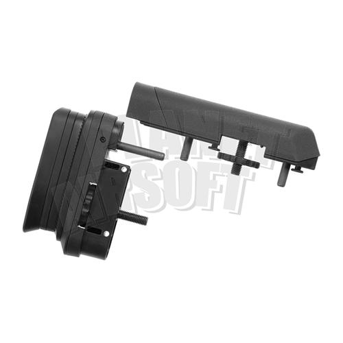 Ares / Amoeba Ares/Amoeba STRIKER Tactical Advanced Butt Pad & Cheek Pad : Zwart