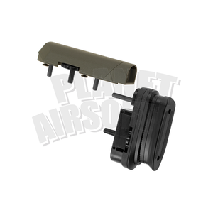 Ares / Amoeba Ares/Amoeba STRIKER Tactical Advanced Butt Pad & Cheek Pad : Olive Drap