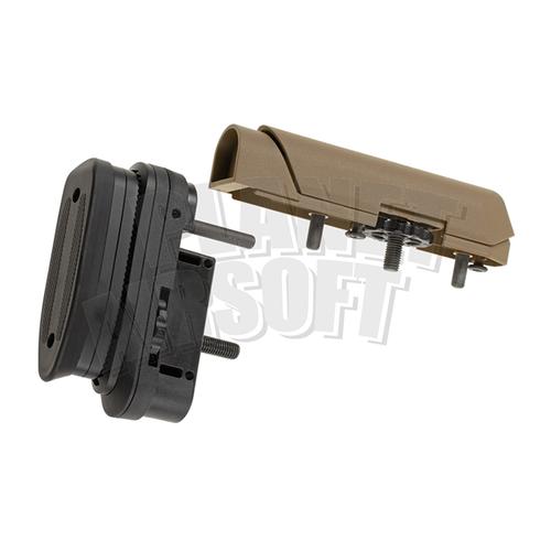 Ares / Amoeba STRIKER Tactical Advanced Butt Pad & Cheek Pad : Dark Earth