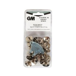 GM (Gunn & Moore) Steel screw-in cricket spikes