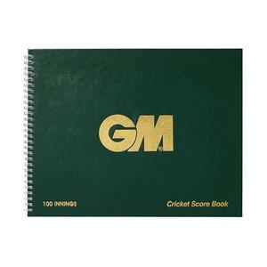 GM (Gunn & Moore) Scorebook 100 innings