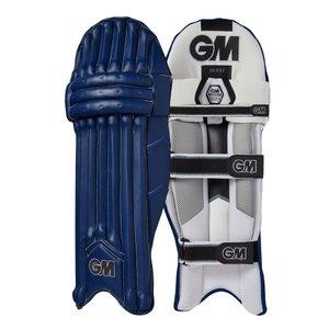 GM (Gunn & Moore) MAXI navy RH Adult batting legguards