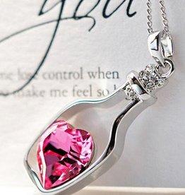 Matryoshka Sterling Silver Pendant Valentine day