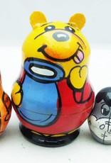Matrioshka, matriochka ,matrioska , mamuska ou boneca russa é um brinquedo tradicional da Rússia