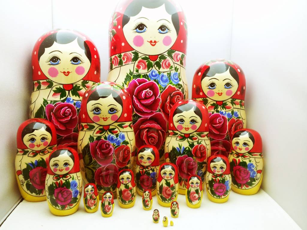 Matryoshka (M20 pieces) 34-36 cm high