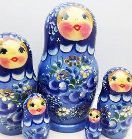 Matryoshka (5) Collection 16-18 cm high