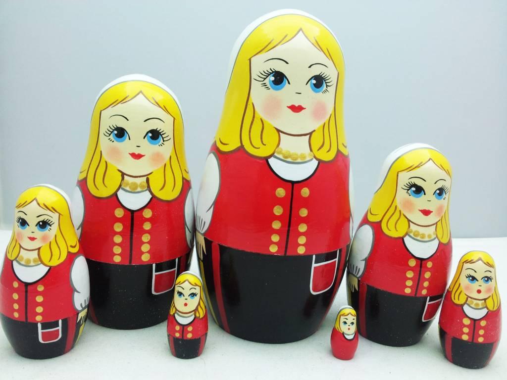 MATRIOSKA (7) ύψος 15-17 cm Disney