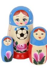 russian Splendor Bizim Dünya Futbol Kupası Matruşka