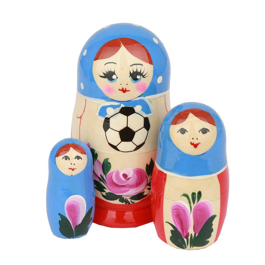 russian Splendor Vår World Football Cup Matrjosjka 2018