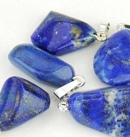 Lapis Lazuli com pingente de prata, o fechamento Cartier e bolsa de presente