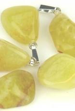 Opalite perle med sølv vedhæng, Cartier lukning og gavepose