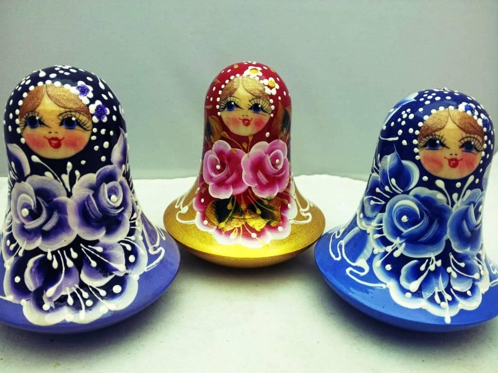 Matryoshka Tumbler Toy