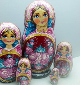 Matrioshka Collection Princes 18cm