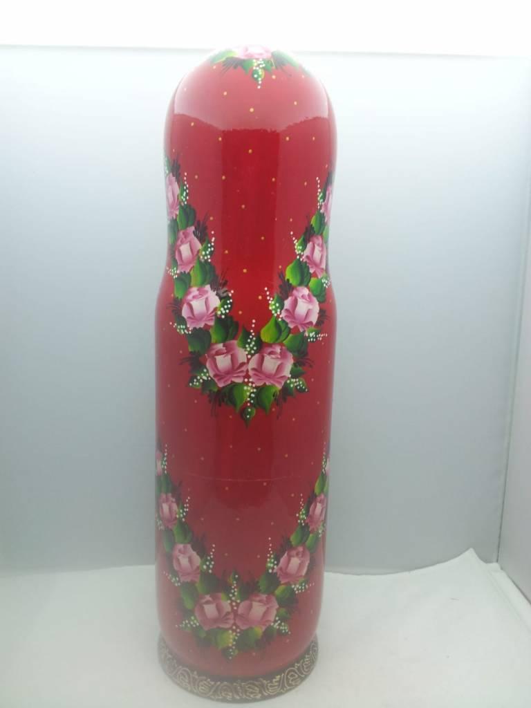 Matroschka Flaschenhalter 0,75 Liter 34-36cm