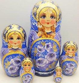 Matrjoschka Matroschka Babuschka-Puppe,