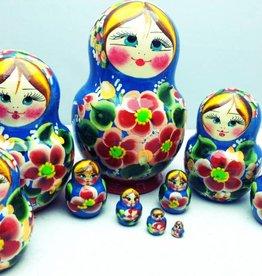 Matryoshka (M10 pieces) 14 cm high