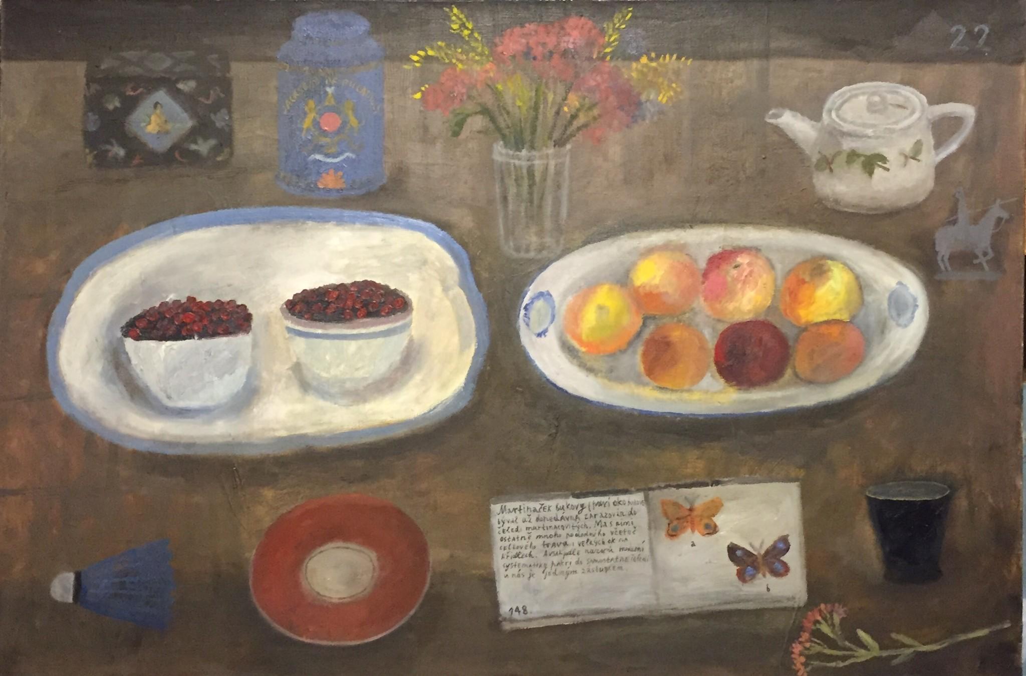 Painting Tatiana Sergeeva September 80x60 -cm  September