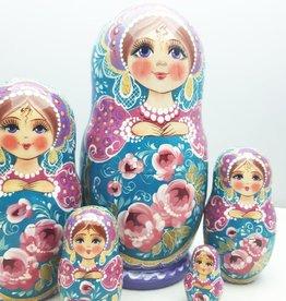 Matrjosjka (5) Collection 16-18 cm høj