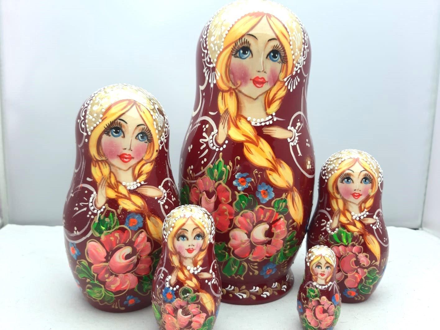 Matryoshka (5) 16-18 εκ.