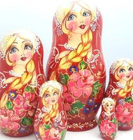 Matryoshka ρωσική κούκλα