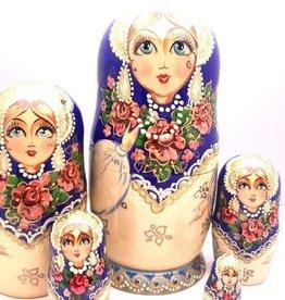 Matroesjka  Collectie Princes( -5)-18cm