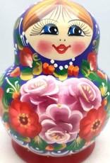 Bambola Rusa Matrioška M3 13-14 cm