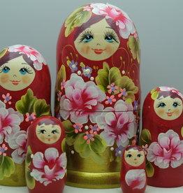 Matrjosjka babusjka/babushka eller russisk dukke