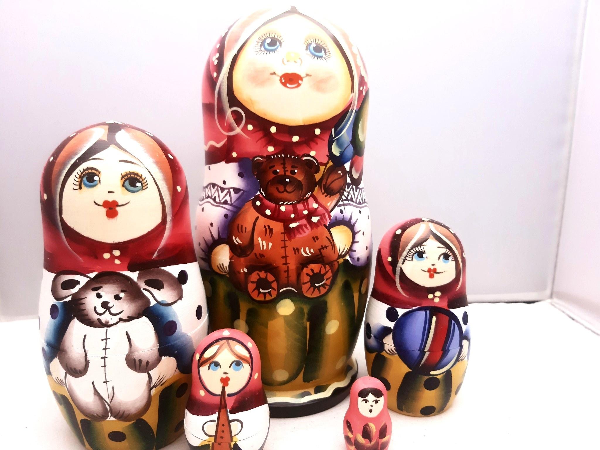 Baboesjka-Russische Poppen