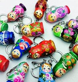 Matrjoschka Schlüsselhänger
