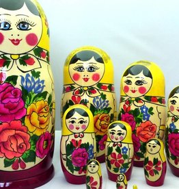 Matryoshka Semenov set 10 pieces (24-25 cm high)