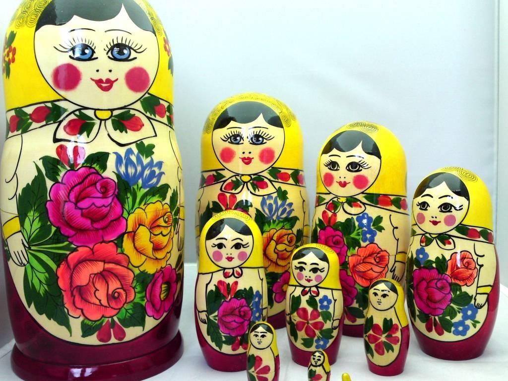 Matrioška Semenov 10 pezzi (alta 24-25 cm)