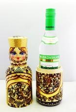 Matroschka Flaschenhalter 0,5 Liter 34-36cm