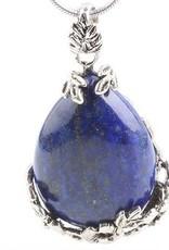 Gümüş kolye ile Lapis Lazuli