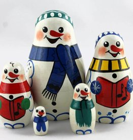 5 adet Santa 9-11 cm-set