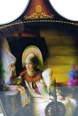 Matryoshka Rus bebek deco kesme tahtası 28 cm