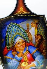 Matrjosjka Russiske dukke deco skjærebrett 24/28 cm