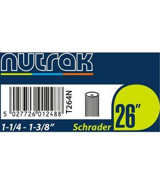 Nutrak Nutrak Inner Tube 26 x 1-1/4-1-3/8  Schrader