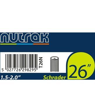 Nutrak Nutrak Inner Tube 26 x 1.5-2.0 Schrader