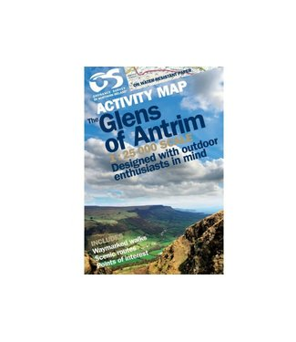 Ordnance Survey OS Activity Map The Glens of Antrim 1:25 000 Scale