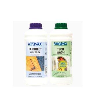 NikWax Nikwax Tech Wash/TX Direct 2x1L