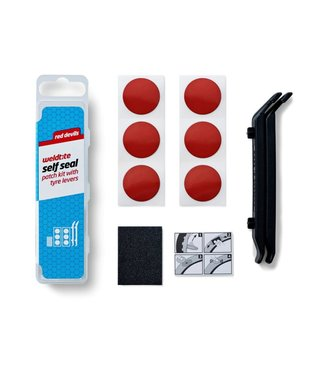 Weldtite Weldtite Self Seal Patch Kit with Levers