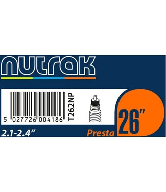 Nutrak Nutrak Inner Tube 26 x 2.1-2.4 Presta