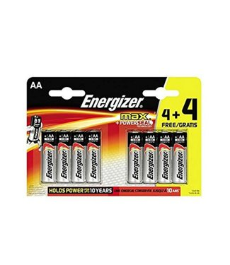 Energizer Energizer AA 4+4 Batteries