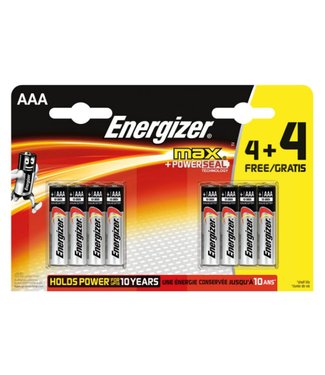 Energizer Energizer AAA 4+4 Batteries