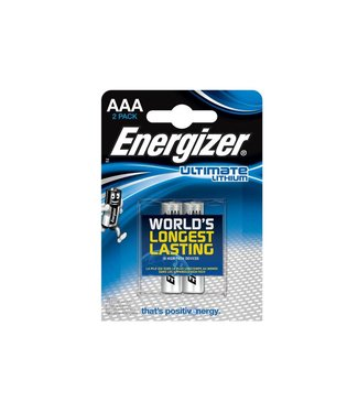 Energizer Energizer Ultimate Lithium AAA 2 Pack