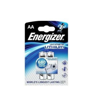 Energizer Energizer Ultimate Lithium Batteries AA 2 Pack