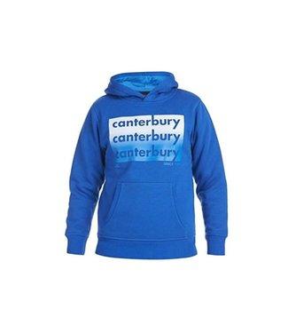 Canterbury Canterbury E752884 Graphic Block Print Hoody Royal/White/Blue 8 Years