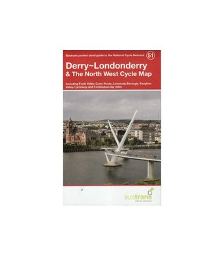 Sustrans Sustrans Derry/Londonderry & The North West Cycle Map