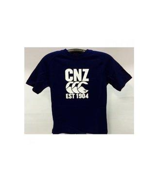 Canterbury Cnz Est 1904 Cotton Tee E542987